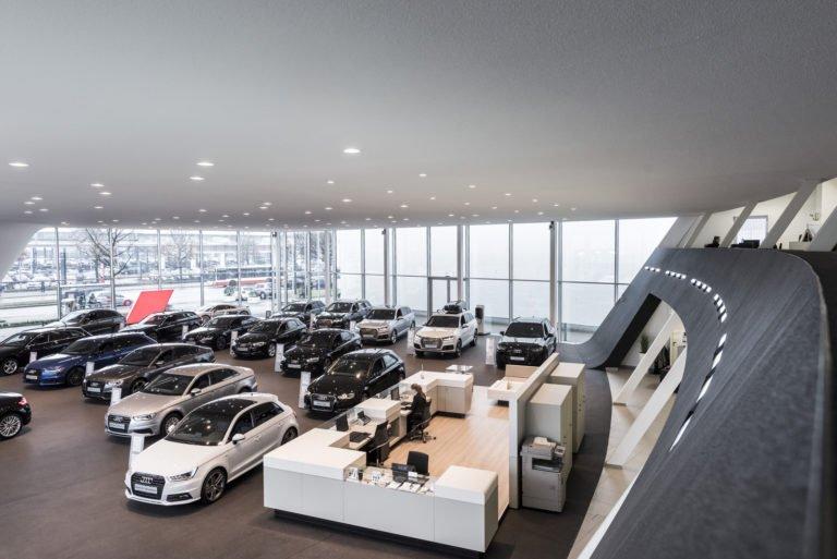 Google Street View Willy Tiedtke Autohaus Audi Hamburg