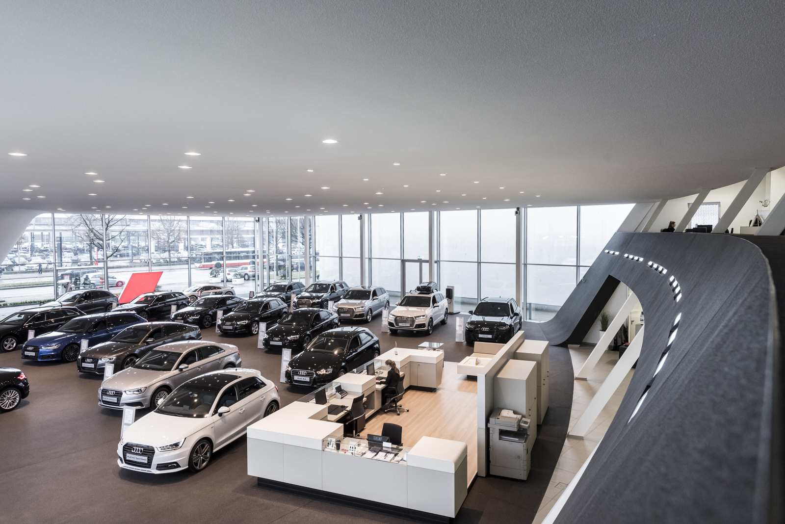 Google Street View Willy Tiedtke Autohaus Audi Hamburg